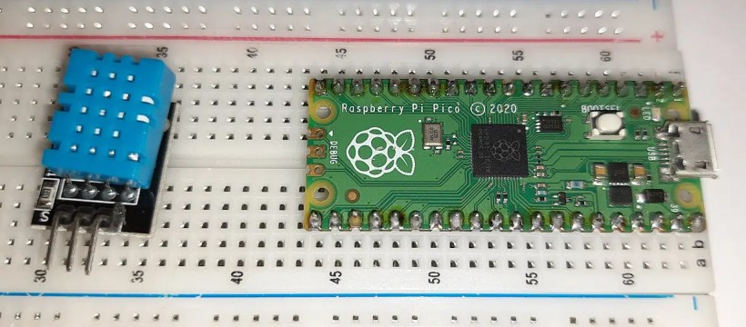 raspberry pi pico dht11 featured image