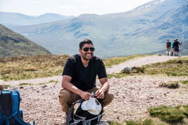 Top of Devils staircase - puneet