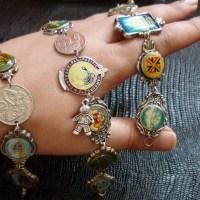 NZ souvenir spoon bracelets