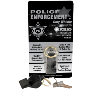 Police Enforcement Duty Whistle - FOX40