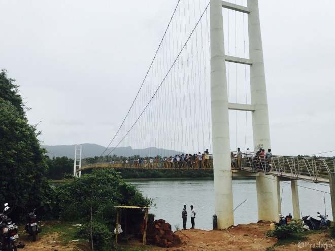 Gersoppa Bridge across Sharavati river