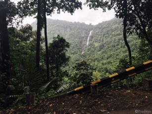 Western Ghats waterfall