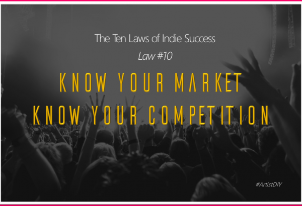 know your market and your competition