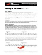 Gettin In Da Blues (FUNdamentals) 4 Horn Bari