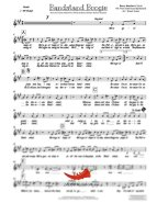 Bandstand Boogie (Barry Manilow) 4 Horn Bari