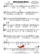 Blue Suede Shoes (Elvis Presley) 4 Horn Trumpet II