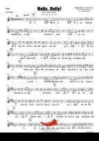 Hello Dolly (Bobby Darin) 4 Horn Alto