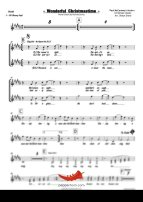 Wonderful Christmastime (Paul McCartney) 4 Horn Alto