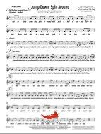Jump Down Spin Around (PepperHorn Standards) 6 Horn