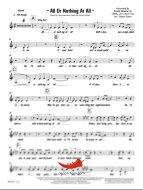 All Or Nothing At All (Frank Sinatra) 4 Horn Bari