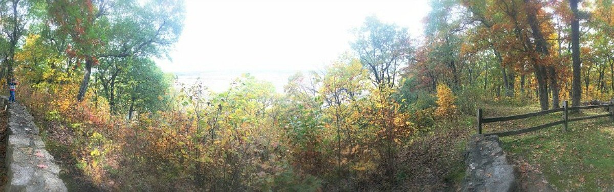 fall in love with Fall in Iowa-pano