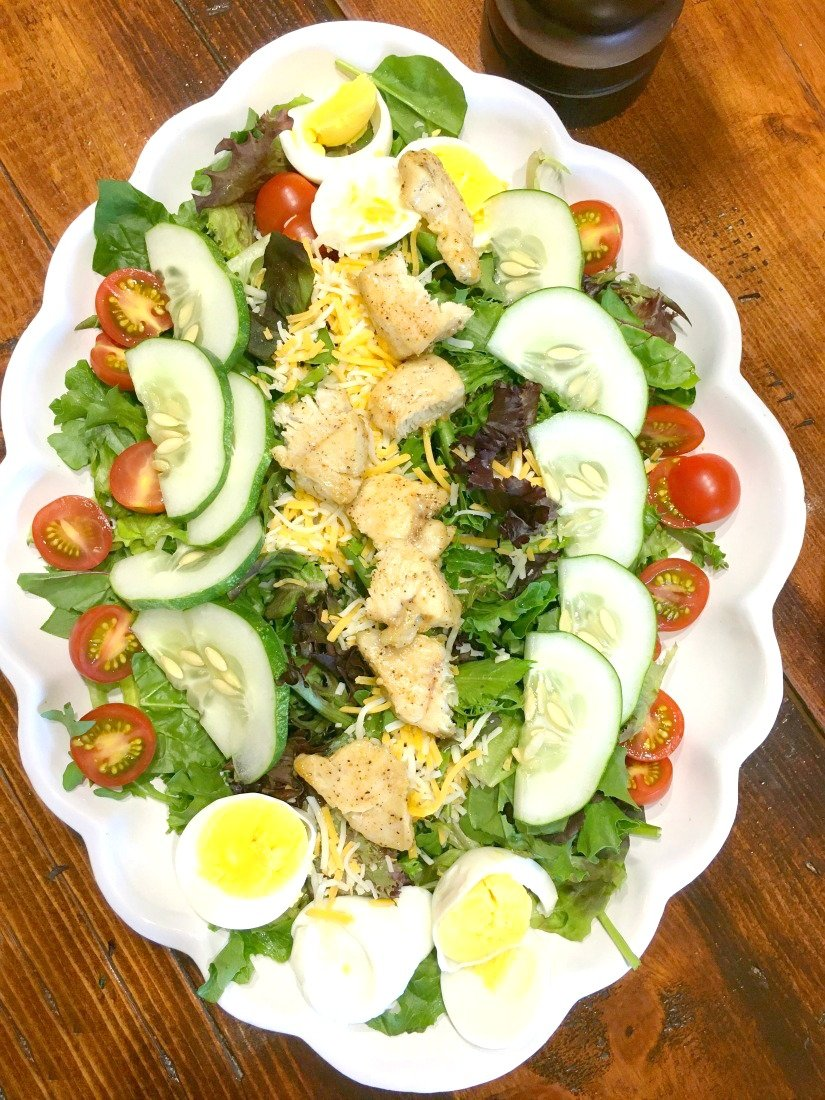 sweet summer tomato salad-pbnb-salad