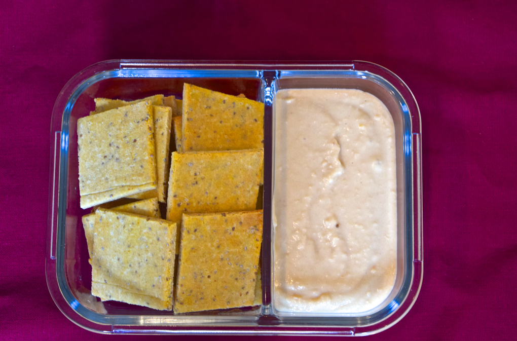 Photo of Irresistible White Bean Dip with Paleo crackers