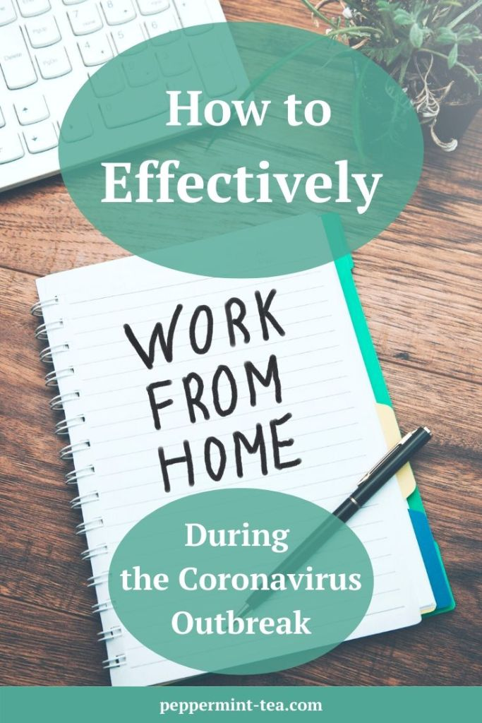 How to Effectively Work from Home During the Coronavirus Outbreak