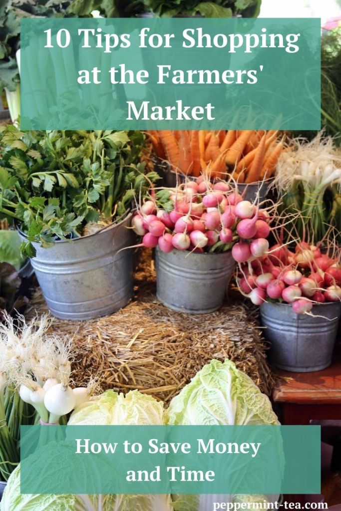 Photo of produce that you can buy when shopping at the farmers' market