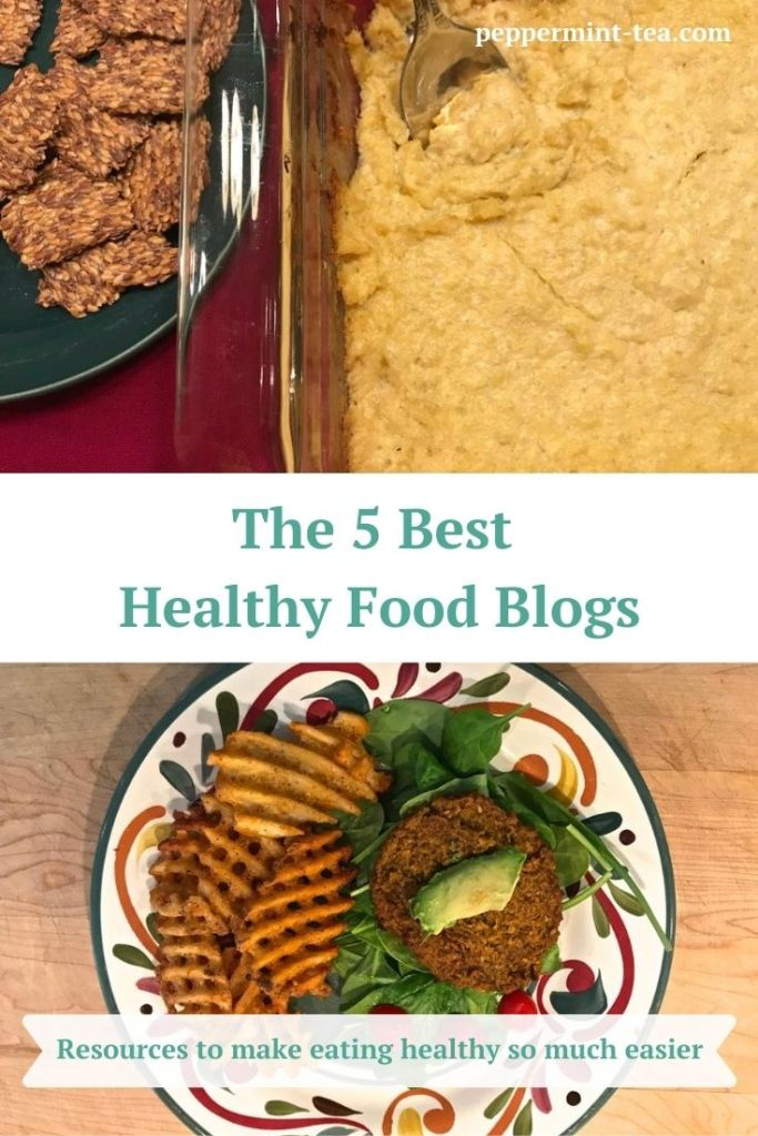 Images of healthy meals from examples of the best healthy food blogs.