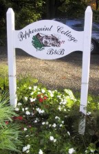 Peppermint Cottage Sign