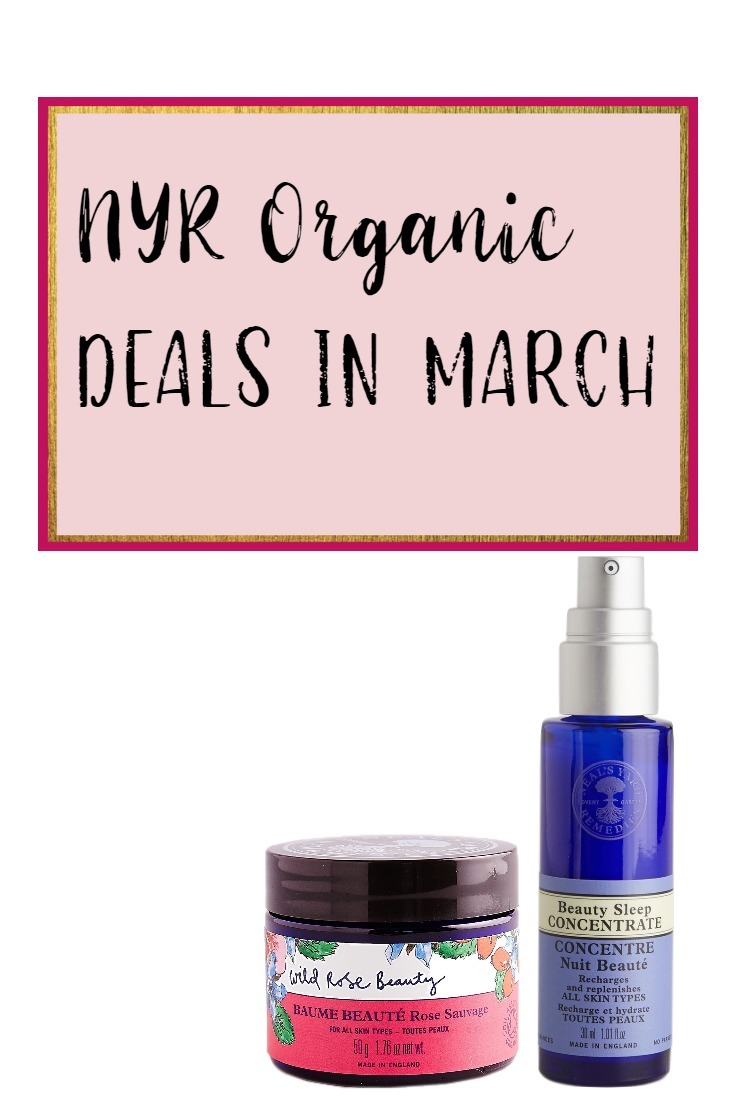 NYR Organic Deals in March