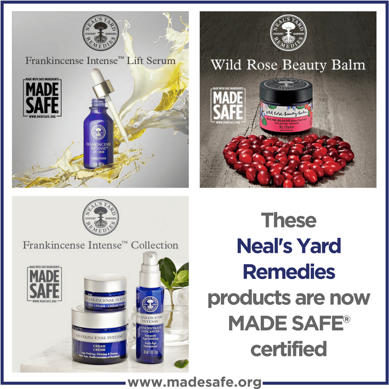 NYR Organic Neal's Yard Remedies Made Safe