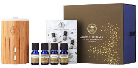 Aromatherapy Diffuser & Essential Oils Collection | NYR Organic. Come read about all the gift collections for winter 2017! www.pepperminttulip.com