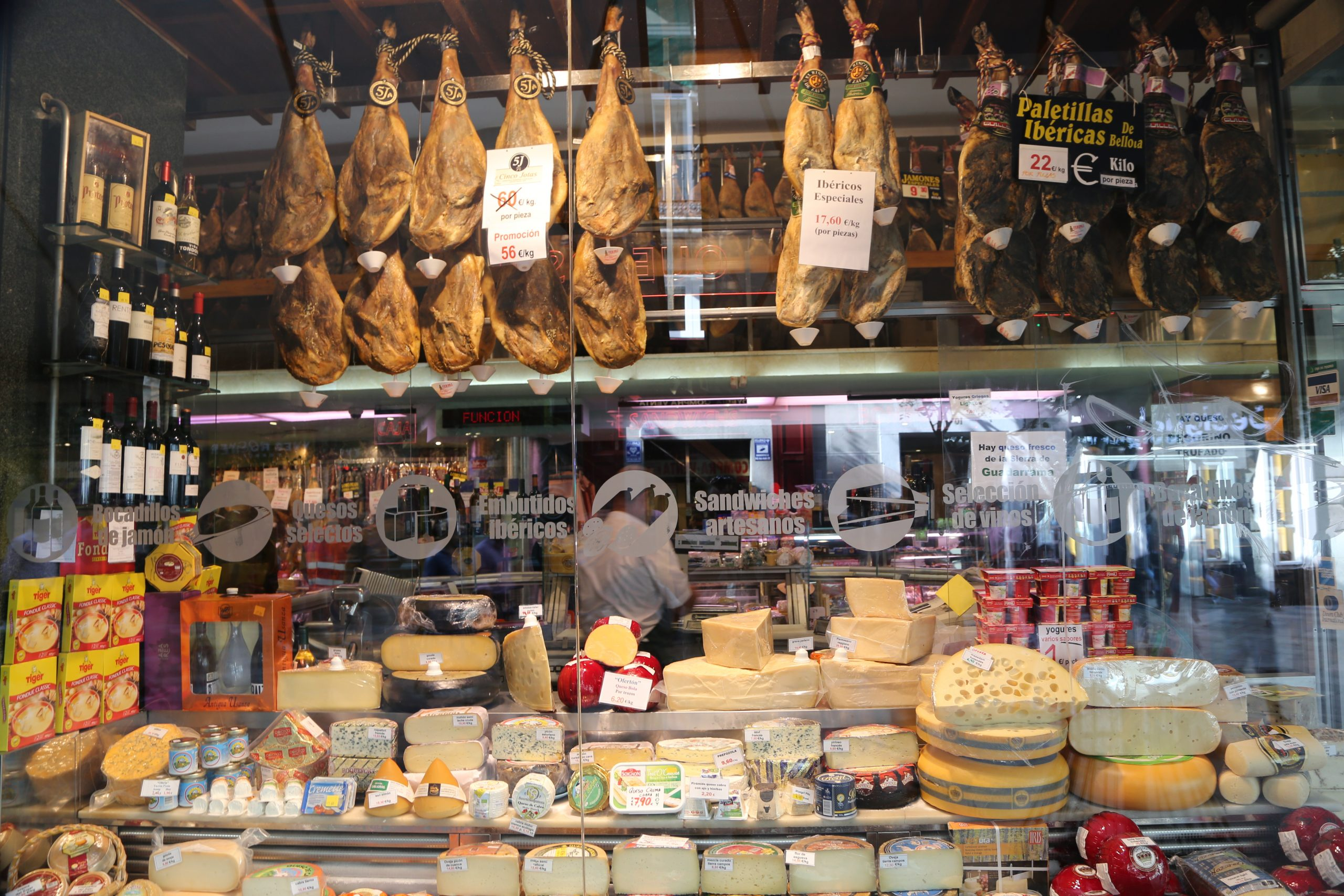 Where to Buy Jamón Ibérico in Madrid