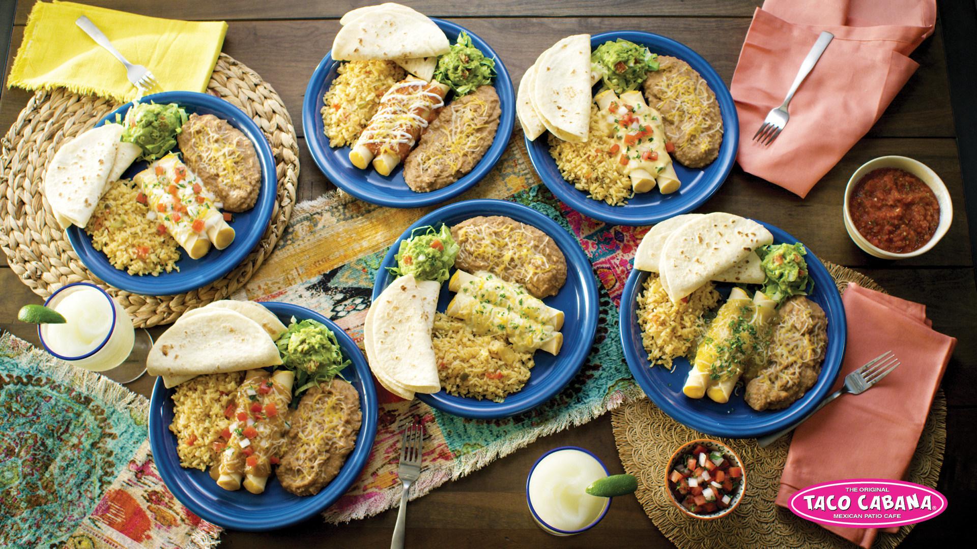 Enchiladas, Taco Cabana