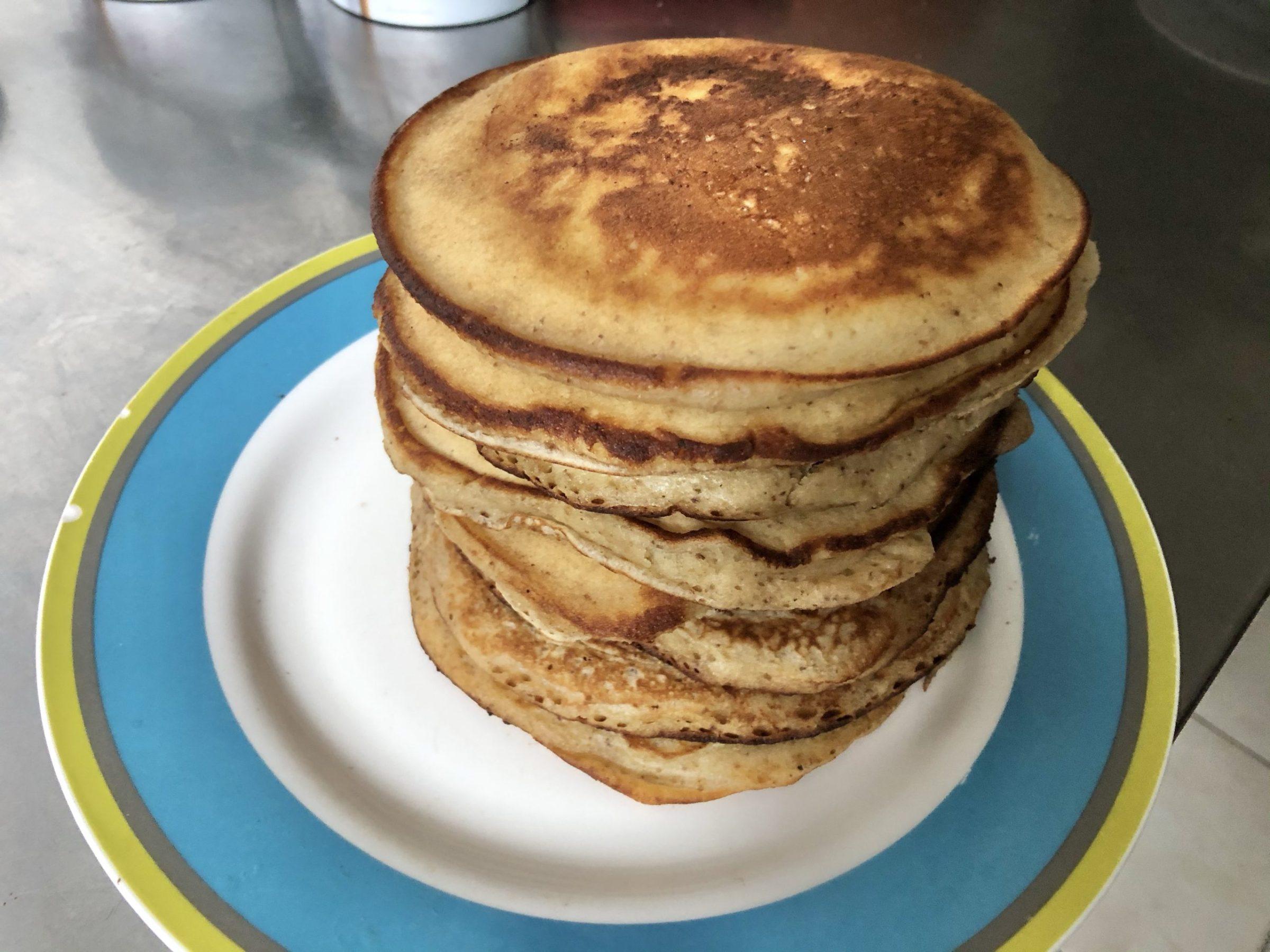 Chestnut pancakes