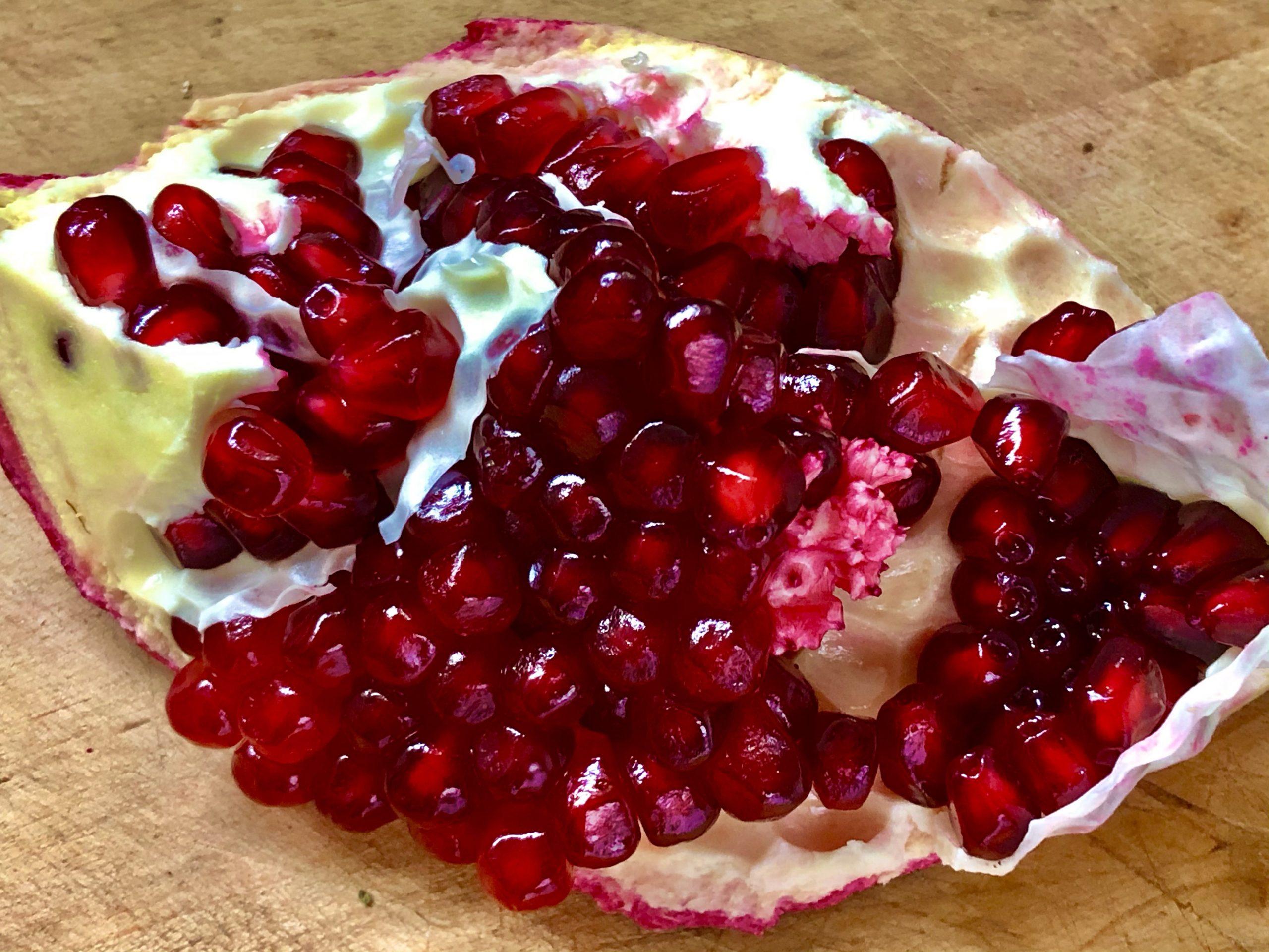 High season for pomegranates