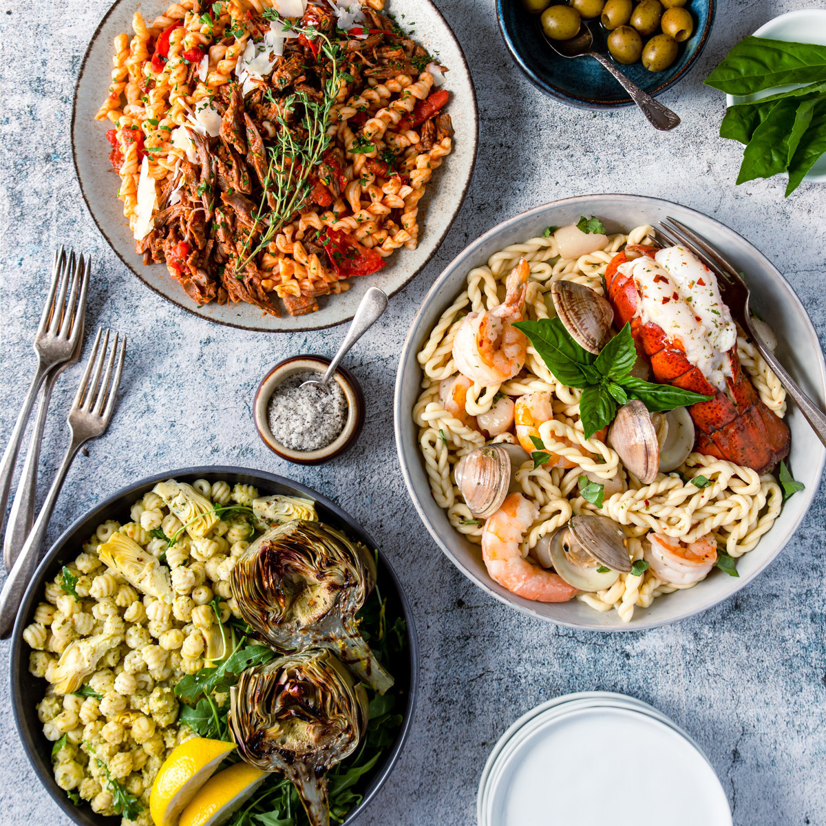 Sneak Peek of Sardinian Pasta Offerings