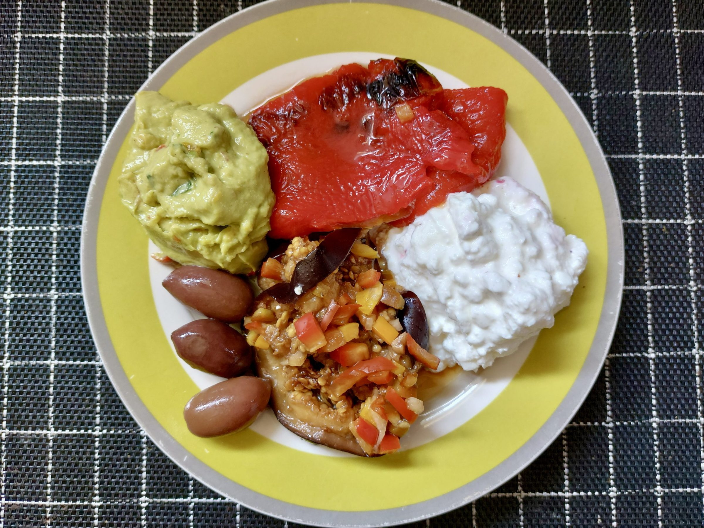 Catalàn Escalivada: Eggplants, peppers, and onions