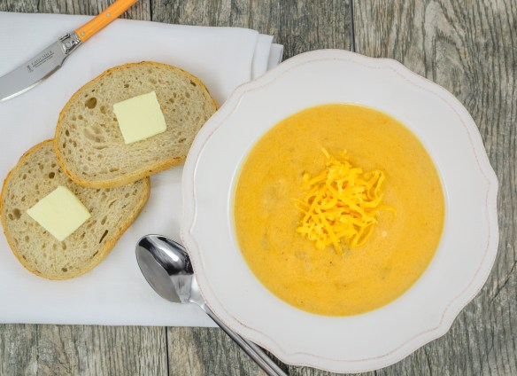 Cheddar Ale Ham and Potato Soup (2)