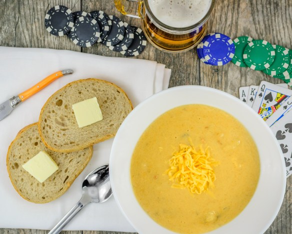 Instagram Cheddar Ale Potato Soup