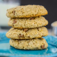 Steel Cut Oatmeal and Chocolate Chip Cookies
