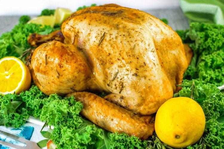 Roast Turkey Lemon and Rosemary | Peppers & Pennies