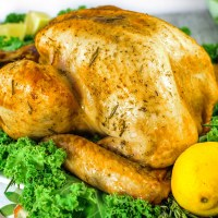 Lemon and Rosemary Roasted Turkey
