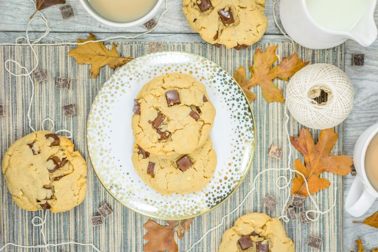 Chunky Peanut Butter Chocolate Cookies