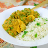 Chicken + Pea Curry