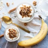 Banana + Brown Sugar Overnight Oats