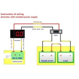 Digital Amp Meter DC (