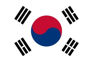 South Korean Flag Souce: Wikipedia