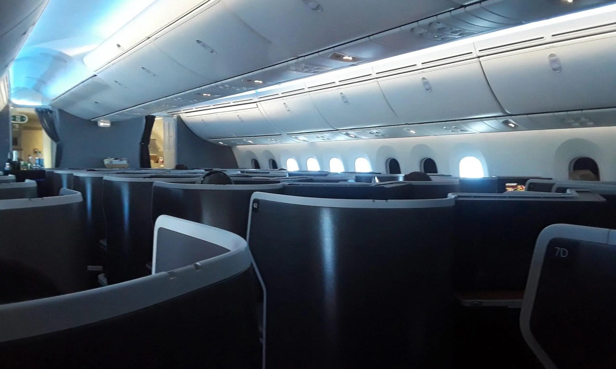 Boeing Dreamliner Flight