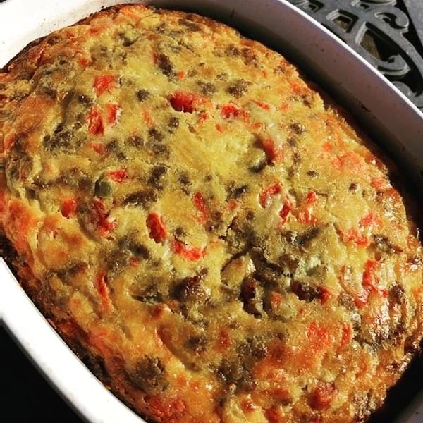 Rotel Breakfast Casserole