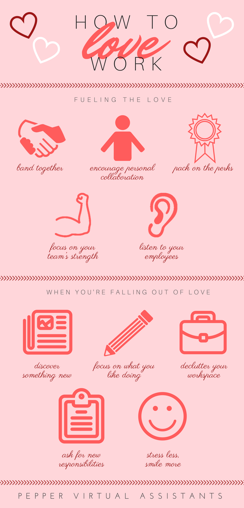 Pepper Virtual Assistants Philippines How To Love Work Infographics