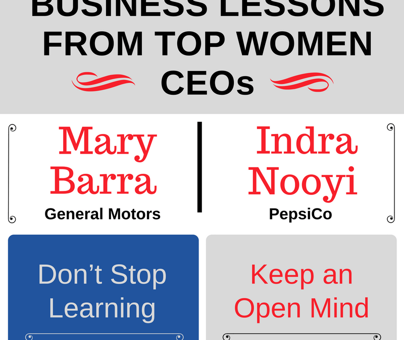 Infographic: Business Lessons from Top Women CEOs