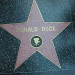 Donald Duck on the Walk Of Fame