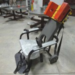 Restraint Chair Used For Force Feeding