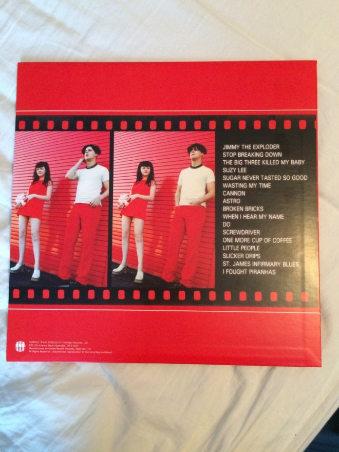 The White Stripes (Self-Titled) Back