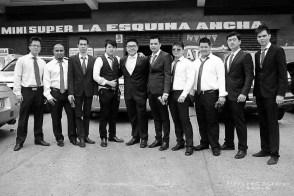 Caballeros en Boda
