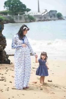 Con Mama en la Playa- Maternidad-Peppophotography