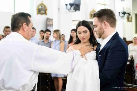 Padre dándole la Bendición a Rafael